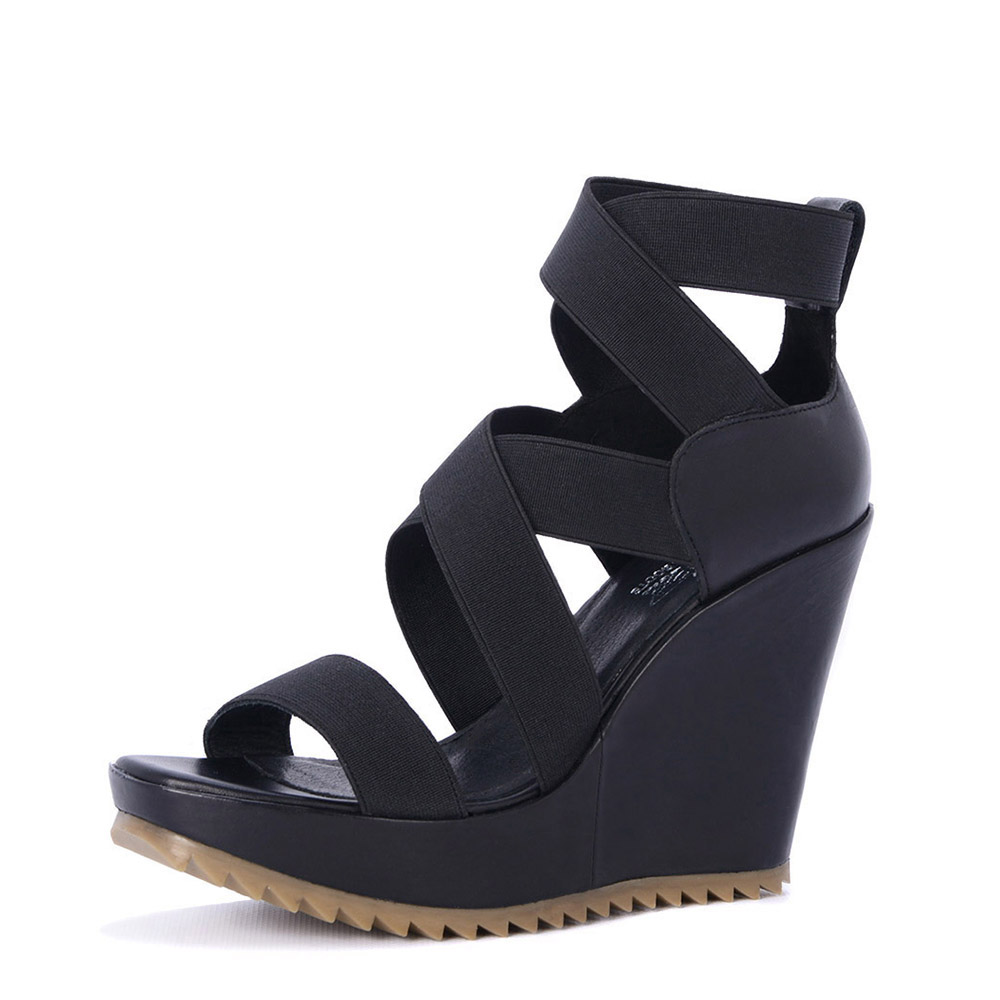 SPM sandaal 16126026 zwart